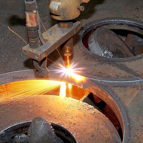 火焰钢板切割