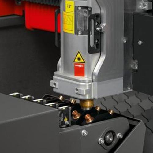 激光切割加工工件